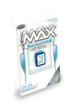 2GB SD memory card for Nintendo Wii