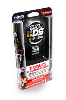 Nds action replay ds media edition codejunkies
