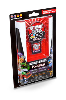 NDS Action Replay Ultimate Cheats for Pokemon
