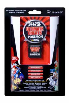 DSi Action Replay Ultimate Cheats for Pokemon