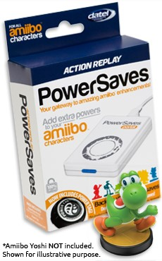 PowerSaves for Amiibo™ packaging