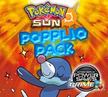 Popplio Prime Pack for Pokemon Sun (EU)